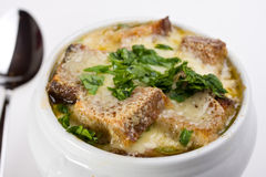 Onion soup Royalty Free Stock Photos