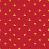 Onion sparse pattern red Royalty Free Stock Photos