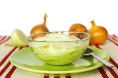 Onion syrup Stock Images