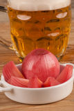 Onion tapa Royalty Free Stock Image