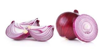 Onion on white background Stock Image