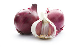 Onion on white Royalty Free Stock Image