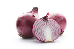 Onion on white Stock Image