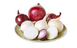 Onions. Royalty Free Stock Photos