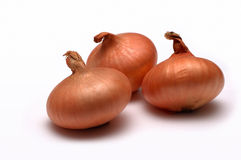Onions. Dancing Onions Royalty Free Stock Photos