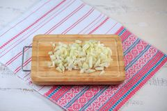 Onions fresh Royalty Free Stock Photography