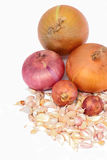 Onions and garlic Royalty Free Stock Photography
