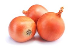Free Onions Isolated On White Royalty Free Stock Photo - 101879595