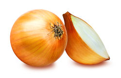 Free Onions Isolated On White Royalty Free Stock Images - 88066169