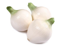 Onions isolated on white background Stock Image
