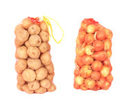 Onions and potatoes Royalty Free Stock Image