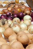 Onions and potatos Royalty Free Stock Image