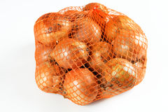 Onions. Some onions with white background Royalty Free Stock Photo