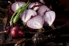 Onions from Tropea Stock Photos
