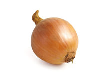 Onions  on white background Royalty Free Stock Images