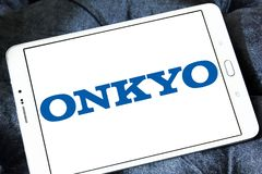 Onkyo Korporation logo Royaltyfri Bild
