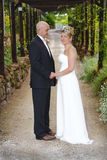 Onlangs echtpaar Royalty-vrije Stock Foto
