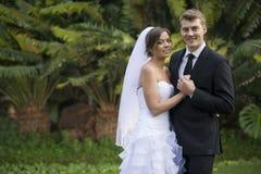 Onlangs echtpaar royalty-vrije stock foto's