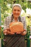 Onlangs-gebakken brood Stock Afbeeldingen