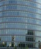 Onlangs gebouwd modern centrum Royalty-vrije Stock Foto
