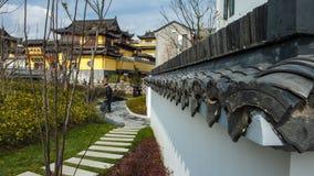 Onlangs gebouwd Zhongxin-Park royalty-vrije stock afbeeldingen