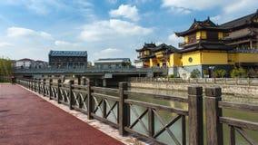 Onlangs gebouwd Zhongxin-Park stock foto's