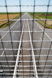Onlangs gebouwde weg Stock Foto