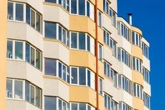 Onlangs gebouwde woningbouw Royalty-vrije Stock Foto