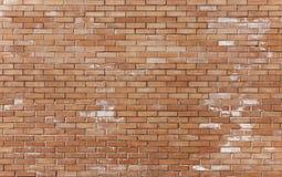 Onlangs geconstrueerd brickwall Stock Foto