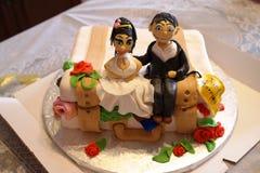 Onlangs-gehuwd Stock Foto's