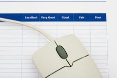 Onlineübersicht Lizenzfreies Stockbild