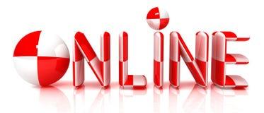 Online Lizenzfreies Stockfoto