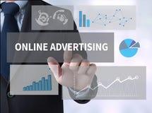 ONLINE ADVERTISING Stock Photo