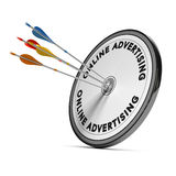 Online Advertising royalty free illustration