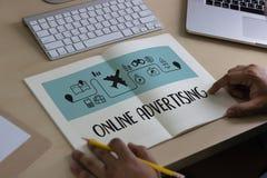 ONLINE ADVERTISING  Website Marketing , Update Trends  Advertisi Stock Photos