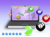 online arkad gry Zdjęcie Royalty Free