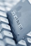Online bank or shopping Stock Image