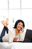 Online banking Stock Images