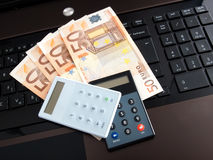 Online banking Royalty Free Stock Photography