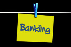 Online banking Stock Photos