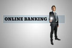 Online banking Royalty Free Stock Images
