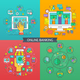 Online banking Stock Photography