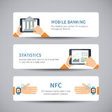 Online banking concept Stock Photo