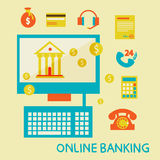 Online banking Stock Photos