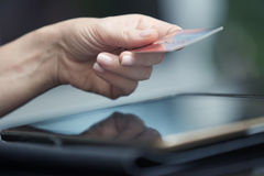 Online banking Royalty Free Stock Photos