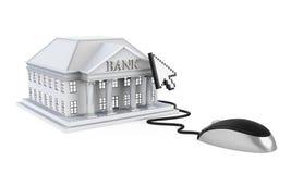 Online Banking Illustration Stock Images