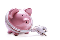 Online banking and savings concept Royalty Free Stock Photos