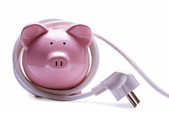 Online banking and savings concept Royalty Free Stock Images