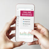 Online Banking Summary Internet Concept Royalty Free Stock Photo