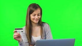 Online Banking Using Smartphone stock video